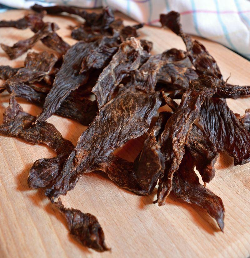 domácí sušené maso jerky