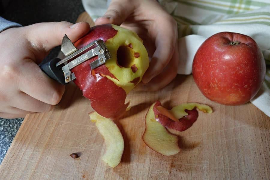 škrabka na ovoce