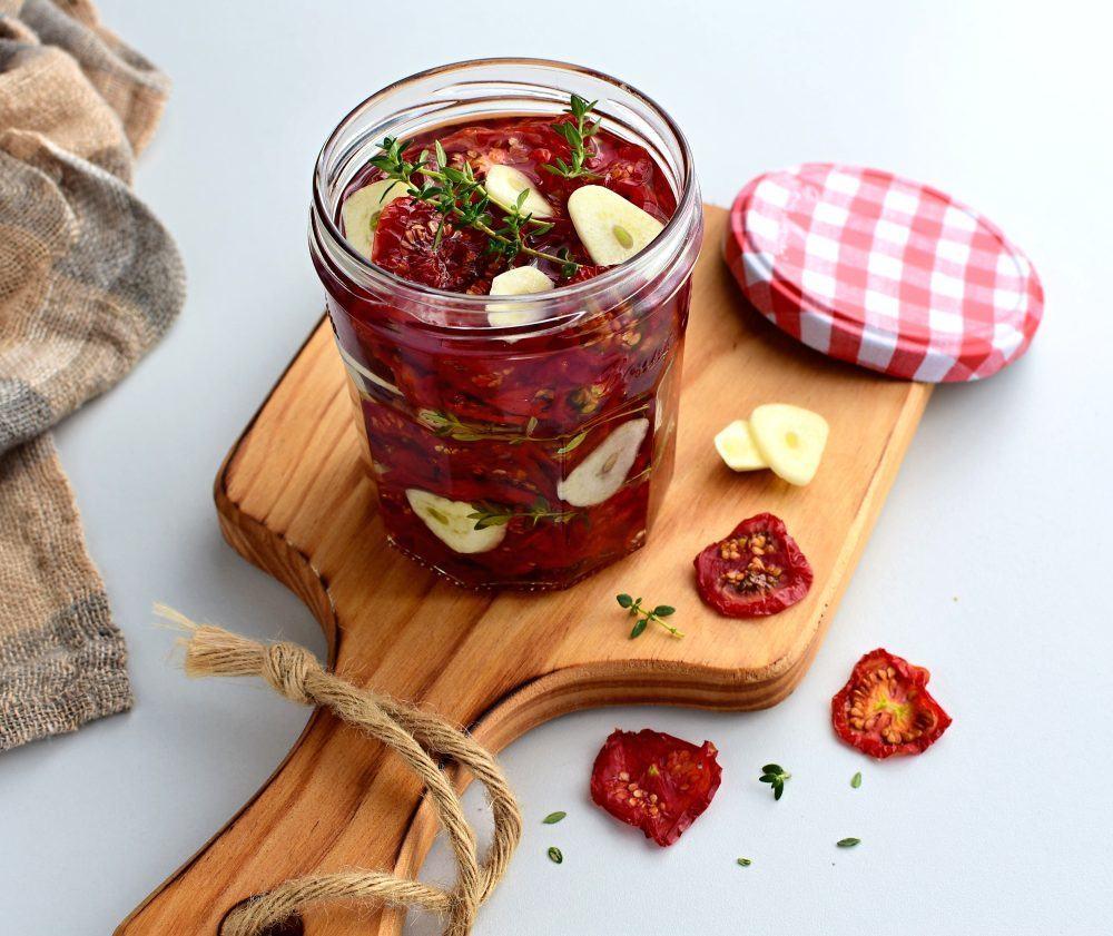 sušená domácí rajčata v sušičce recept